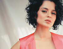 Jan 2012 Marie Claire India: Kangna Ranaut Cover