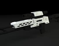 Diseño 3D - Francotirador