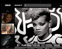 Vevo- New UI Design