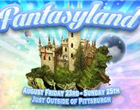FantasyLand Festival Flyer