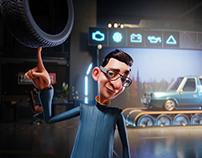 TEGETA MOTORS 2: 3D Animation (Series, 2021)