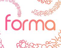 FORMA - MODERN FONT