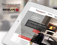 Termocom Website Design