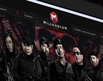 Millennium Films VOD Store Design