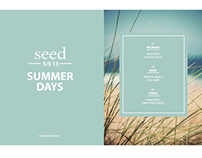 Seed Lookbook S/S 2013
