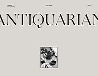 Antiquarian - online store of ceramics products