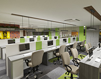 Commercial 3D Interior Rendering Services