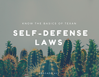 Know the Basics of Texan Self-Defense Laws