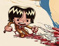 Un corazón rabioso [comic]