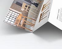 Furniture accordion brochure