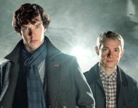 Sherlock international marketing campaign Series 1-2