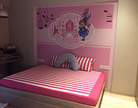 Customised baby girl wallpaper, Pune