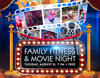 FAMILY FITNESS MOVIE NIGHT