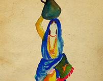Egyptian Illustration