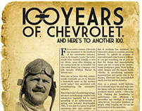 Chevrolet (100 years Centennial)
