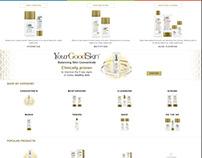 YourGoodSkin Online Ecommerce Store
