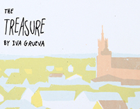 The Treasure - a handmade artist's book about Krakow