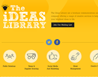 The Ideas Library - Corporate Portfolio Site