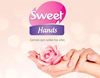 Sweet Hands Caricias que cuidan tu uñas.