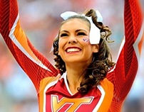 Virginia Tech Athletics Cheerleading Uniform