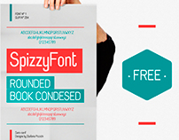 SpizzyFont / Rounded Book Condesed