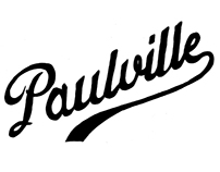 Paulville Logo for orange tee
