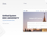 Doc University, unified system, website