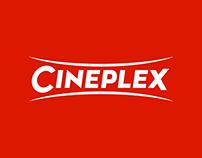Cineplex Branding