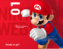 Nintendo Website Redesign