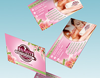 Graphic Design for a Beauty Center