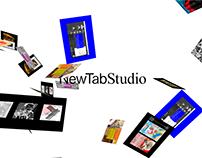 NewTab Studio — visual identity