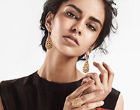 Gold of Brazil jewelry editorial