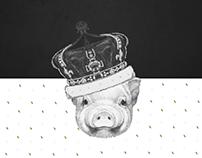 Porco Nobre - Social Media