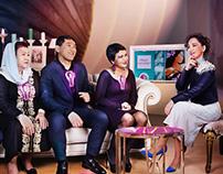 Key visuals for Kazakhstan TV