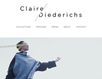 Website & Identity for Claire Diederichs