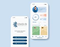 Covid-19 App design idea