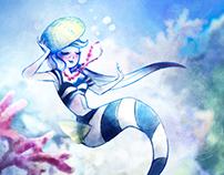 The Little Fashion Mermaid
