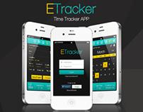 ETracker Time Tracker App - Personal Project