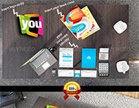 Corporate Identity and Branding Mock-Up Bundle