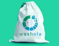 online laundry app branding