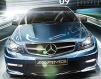 Mercedes AMG Calendar 2013
