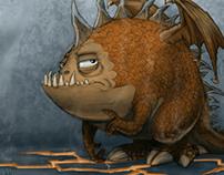 Marshmellow the Dragon