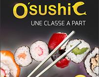 osushic flyer design .free psd download