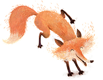 Three foxes