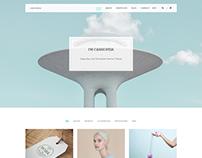 Cassiopeia - Minimalistic & Clean Portfolio Theme
