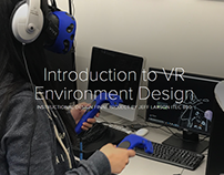Introduction to VR Environment Design