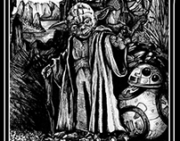 Yoda of the rocks_ink on paper_23 x 14cm_2017r