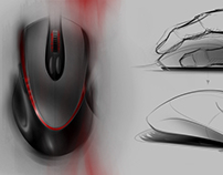 E Mouse/ Entry-level Gaming Mouse Design