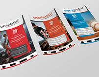 Eerste concepten Flyer Sport@Hasselt