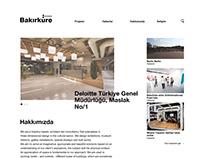 Bakirküre Architects Responsive Website